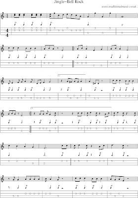 5 Free Jingle Bell Rock Tab