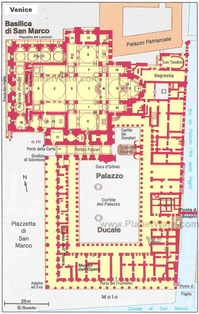 Art now and then basilica di san marco venice for South cathedral mansions floor plans