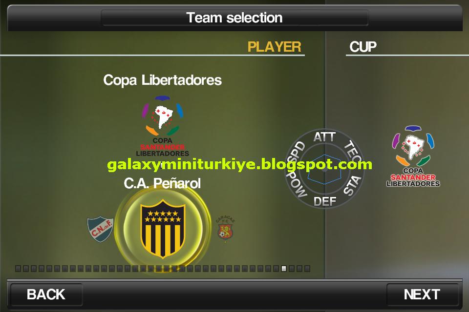 Pes 2012 Pro Evolution Soccer 105 Galaxy Mini Qvga Armv6 8
