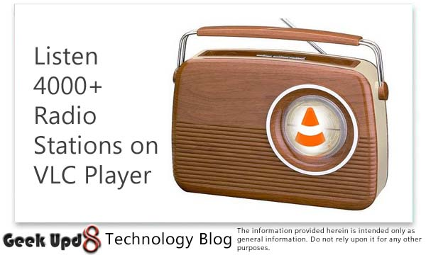 How To Listen 4000+ Radio Stations on VLC Player