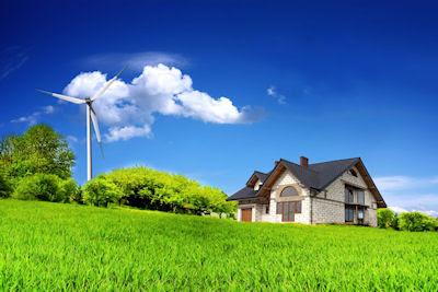 Casa solar - Energías alternativas - Cuidando el medio ambiente - Un mundo más ecológico