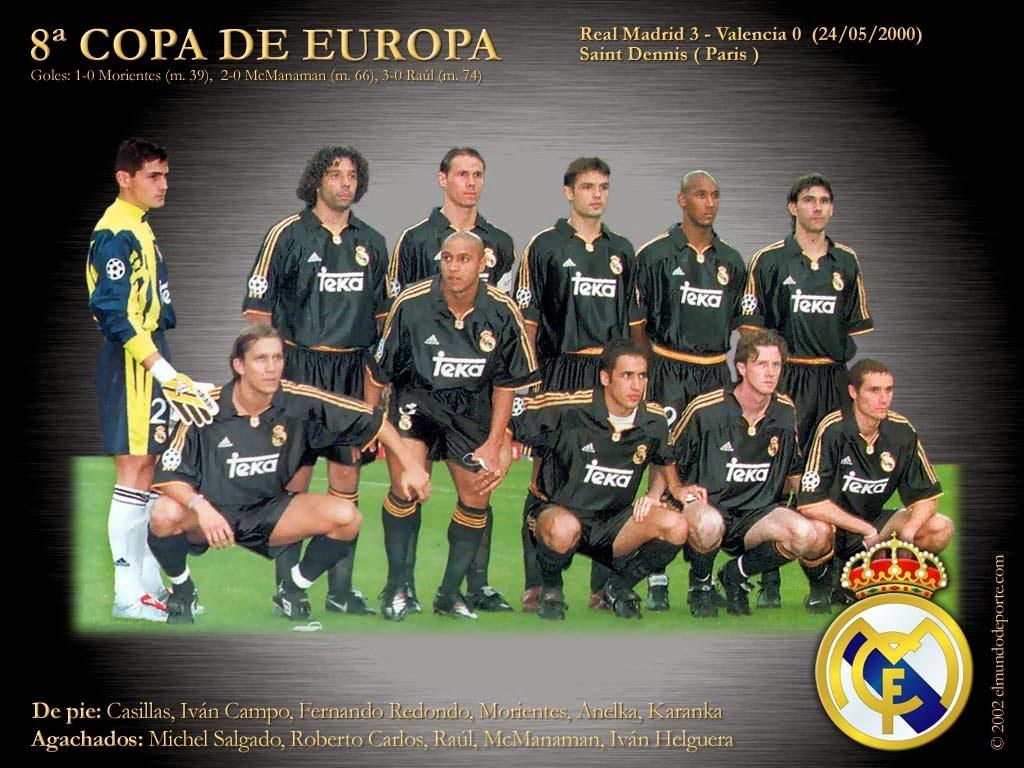 Octava Copa de Europa del Real Madrid - 1999-00