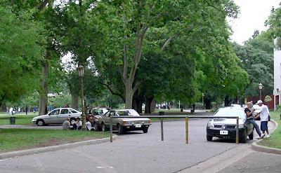 Prohiben en CABA la ciruclacion de motos y vehiculos en parques Autoschacabuco