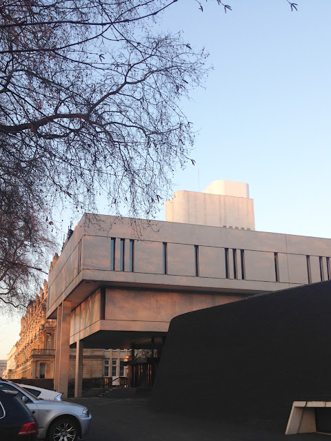 The Royal College of Physicians by Denys Lasdun, exterior