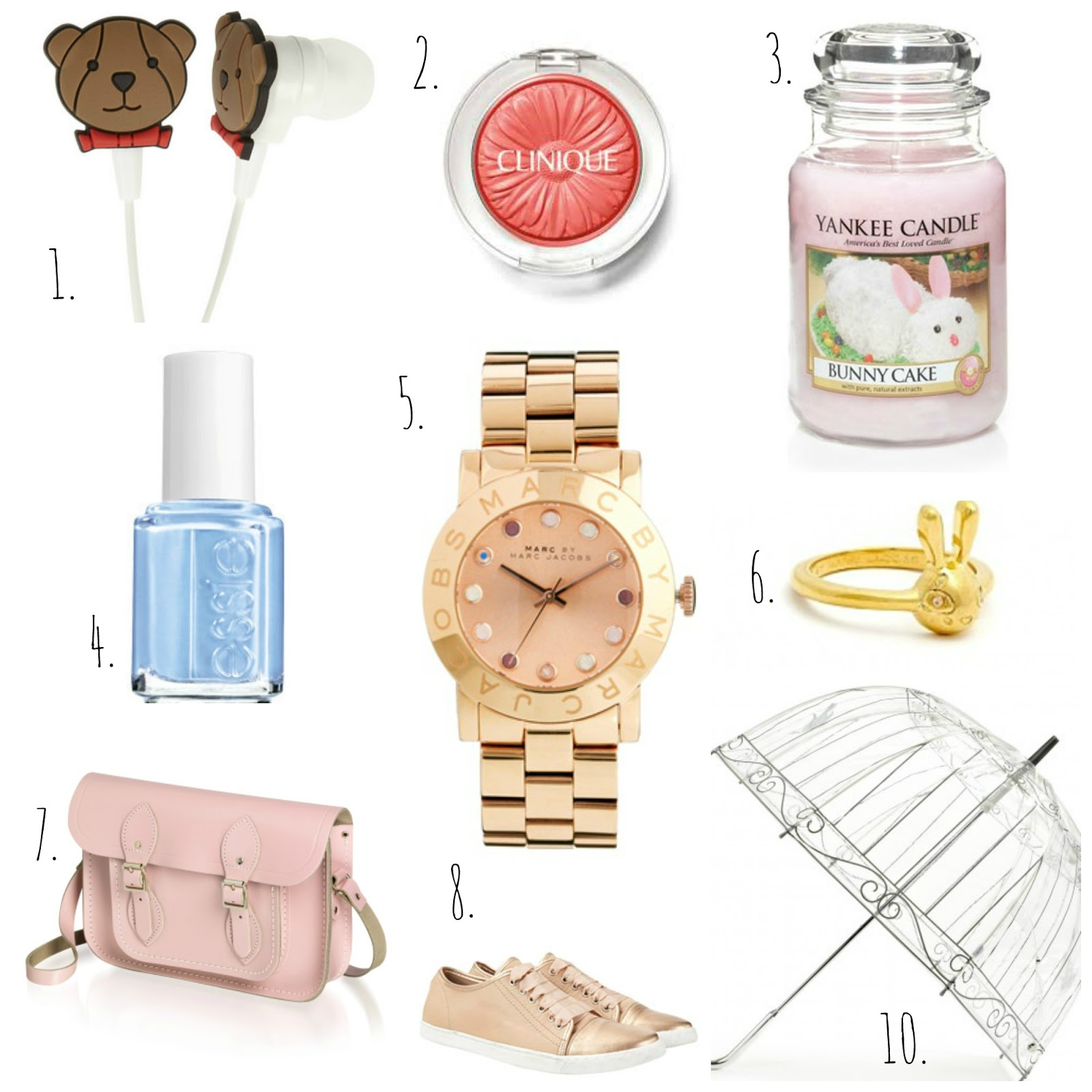 spring accessories wishlist pastels