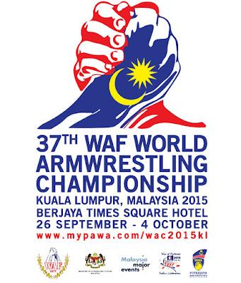 World Armwrestling Championship 2015 Malaysia