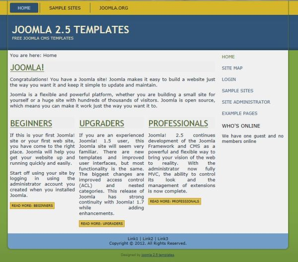 joomla 2 5 templates professional joomla templates cms templates joomla 2 5 templates joomla 2 5 template