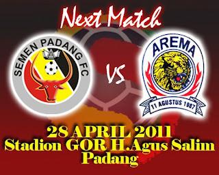 Prediksi Semen Padang vs Arema FC