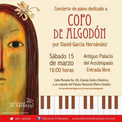 En el Concierto Escénico de David García Hernández