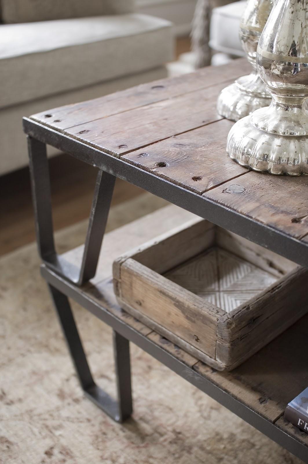 Sofabord Fransk Landstil: Dk ronstrand smalt spisebord.