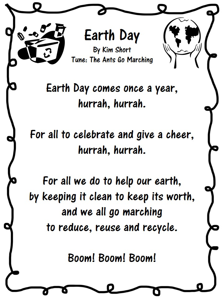 earth day poems for kids - photo #1