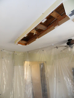 Kitchen Renovation Bulkhead Soffit Demolition