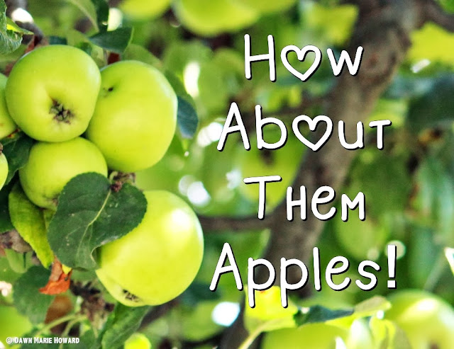 Apple Recipes - Picking Apples by Dawn Marie Howard