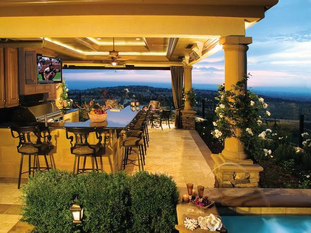 Desain Ruang Makan Menabjubkan dengan View Dataran tinggi
