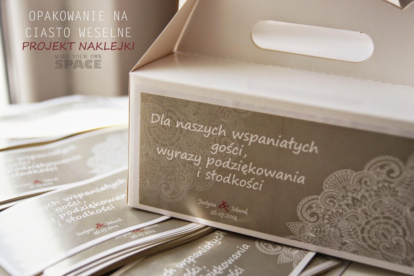 ciasto weselne, ślub, wesele, grafika weselna, podziękowanie dla gości weselnych, diy ślub, DIY ,zrób to sam