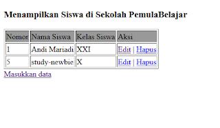 Cara Hapus Data Database di PHP MySql