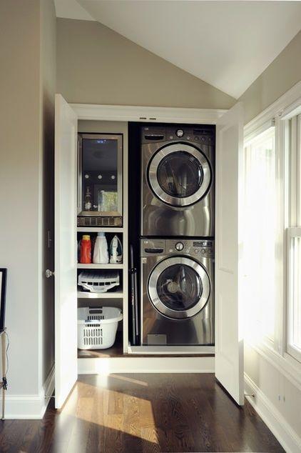Lavadora En La Cocina | Design Dilema Como Ocultar Disimular Una Lavadora
