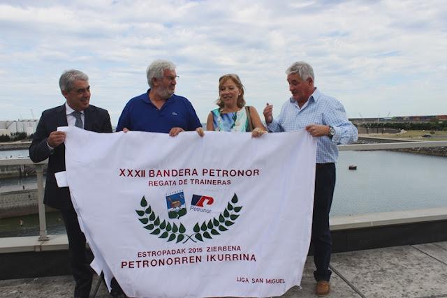 Presentación de la XXXII Bandera Petronor