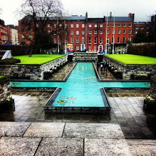 garden of remembrance, dublin, parnell