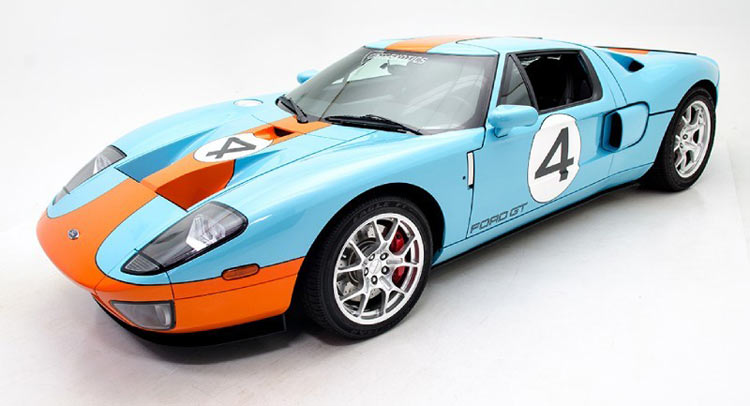 Rare Ford Gt Heritage Edition With Gulf Livery For Sale