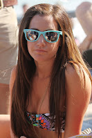 Ashley Tisdale - Bikini candids at Malibu Beach
