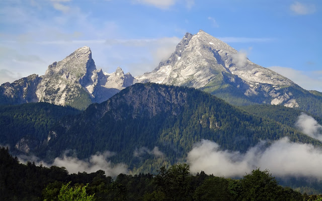 Montaña Watzmann, Alpes de Baviera, Alemania