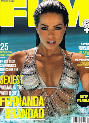 Fernanda Brandao FHM Magazine Wallpapers