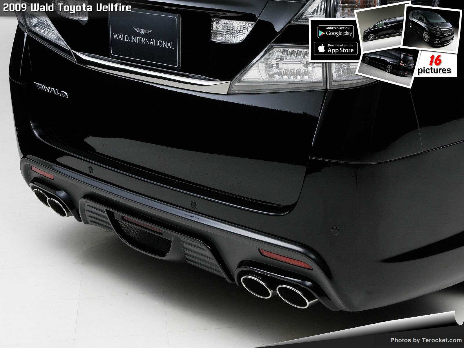 Hình ảnh xe độ Wald Toyota Vellfire 2009 & nội ngoại thất