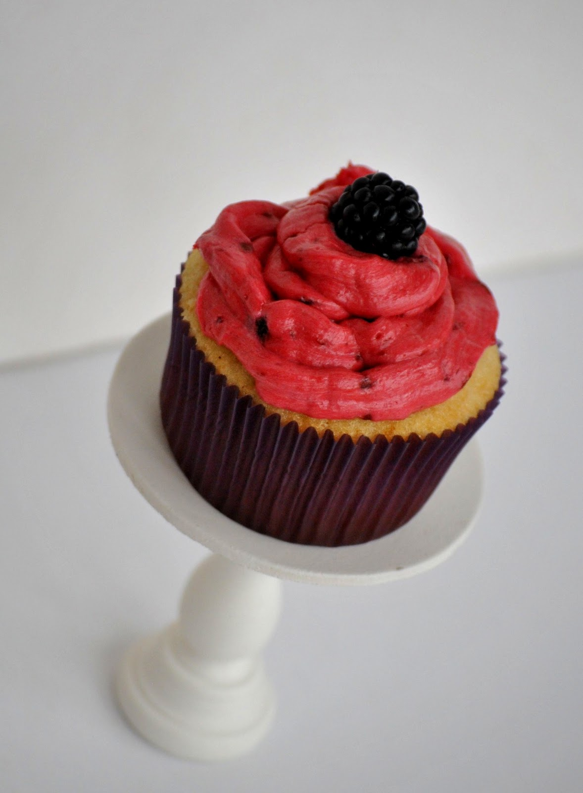 Blackberry Cupcakes Recipe