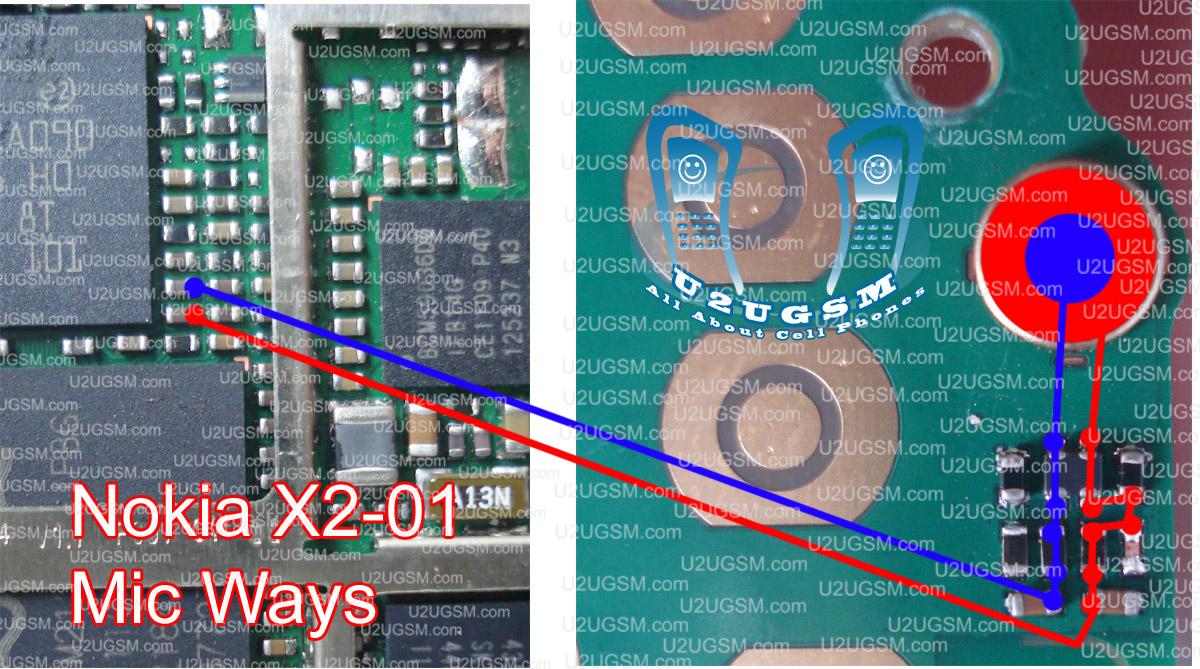 Nokia X2 02 Mic Problem Image Information Circuit Diagram Of X202
