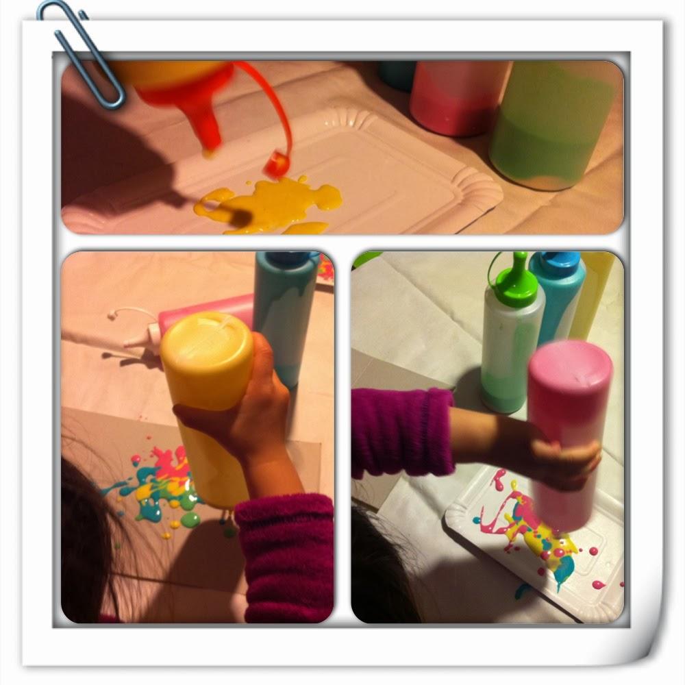 Qu hacemos hoy mam pintura esponjosa - Pintura para microondas ...