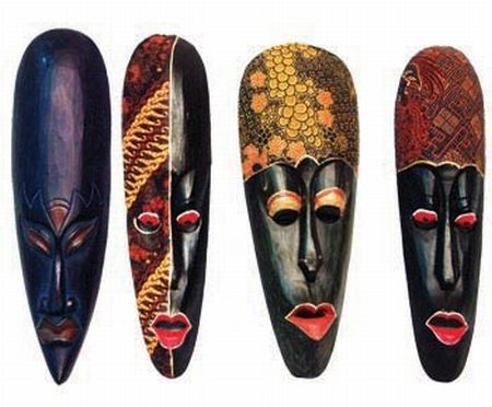 m scaras masques mask m scaras africanas