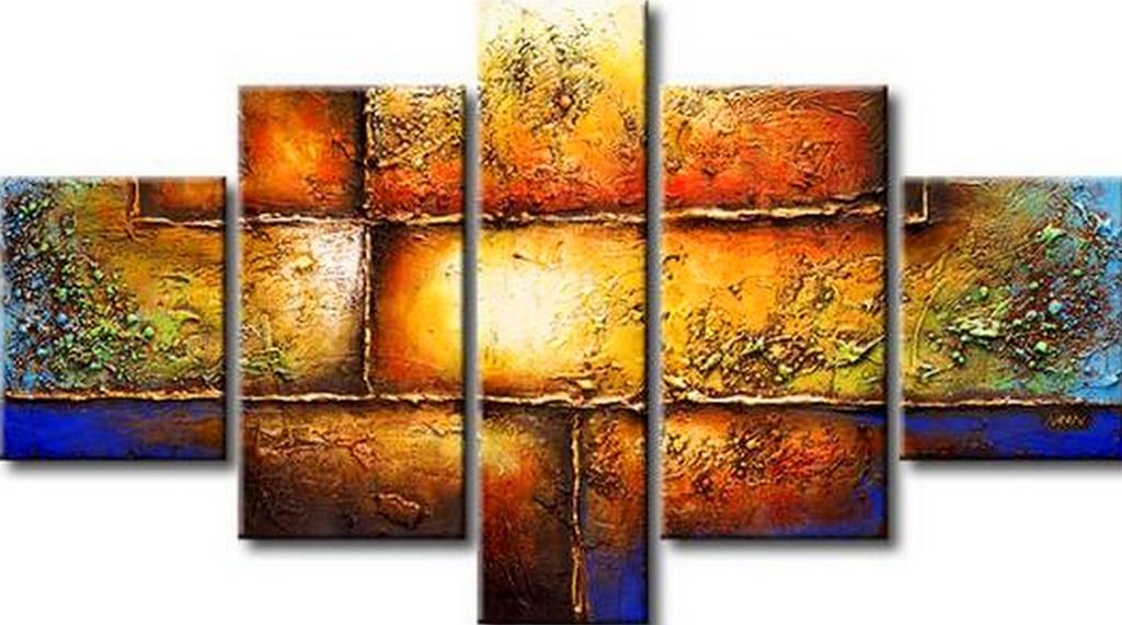 Cuadros pinturas oleos abstractos for Imagenes cuadros abstractos modernos