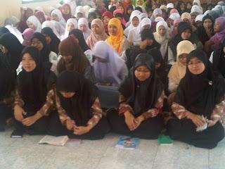 siswa sisiwi MA Nurul Huda muludan