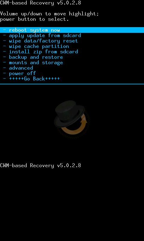 ┌┤(Nuevo) Flashear Clockworkmod Recovery 5.0.2.8