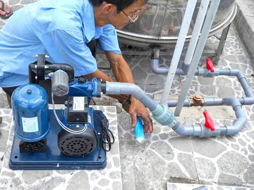 Trường hợp gặp sự cố của máy bơm nước thải tsurumi thì cần làm gì?