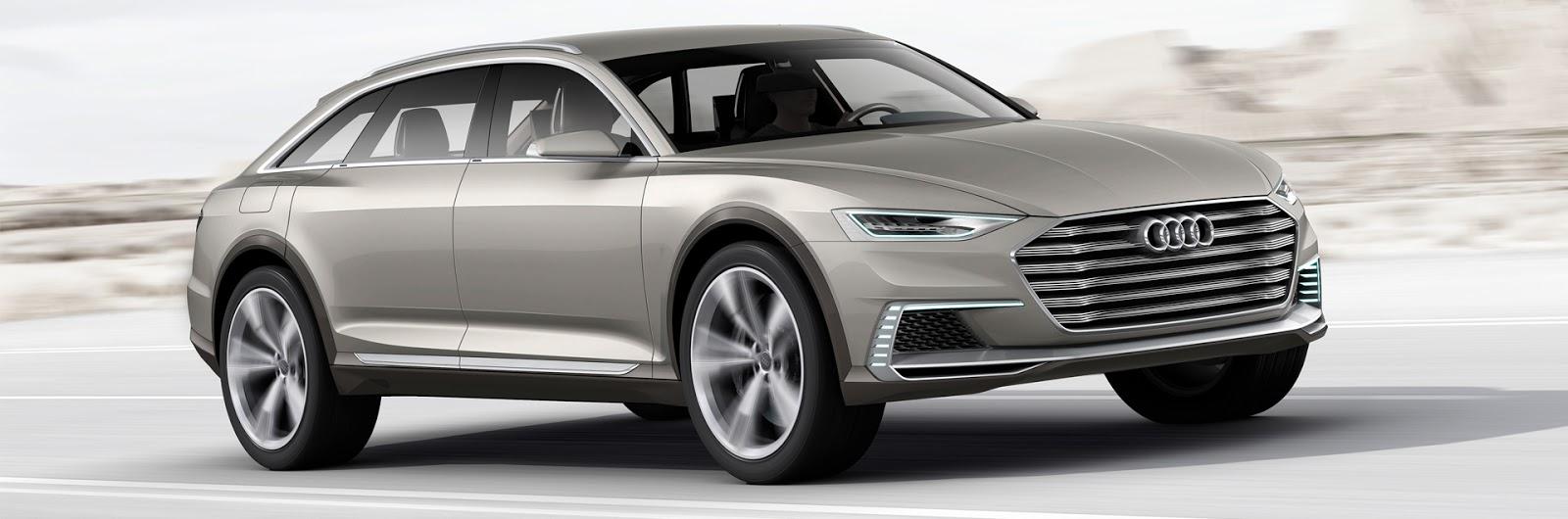 Audi prologue avant oficjalnie
