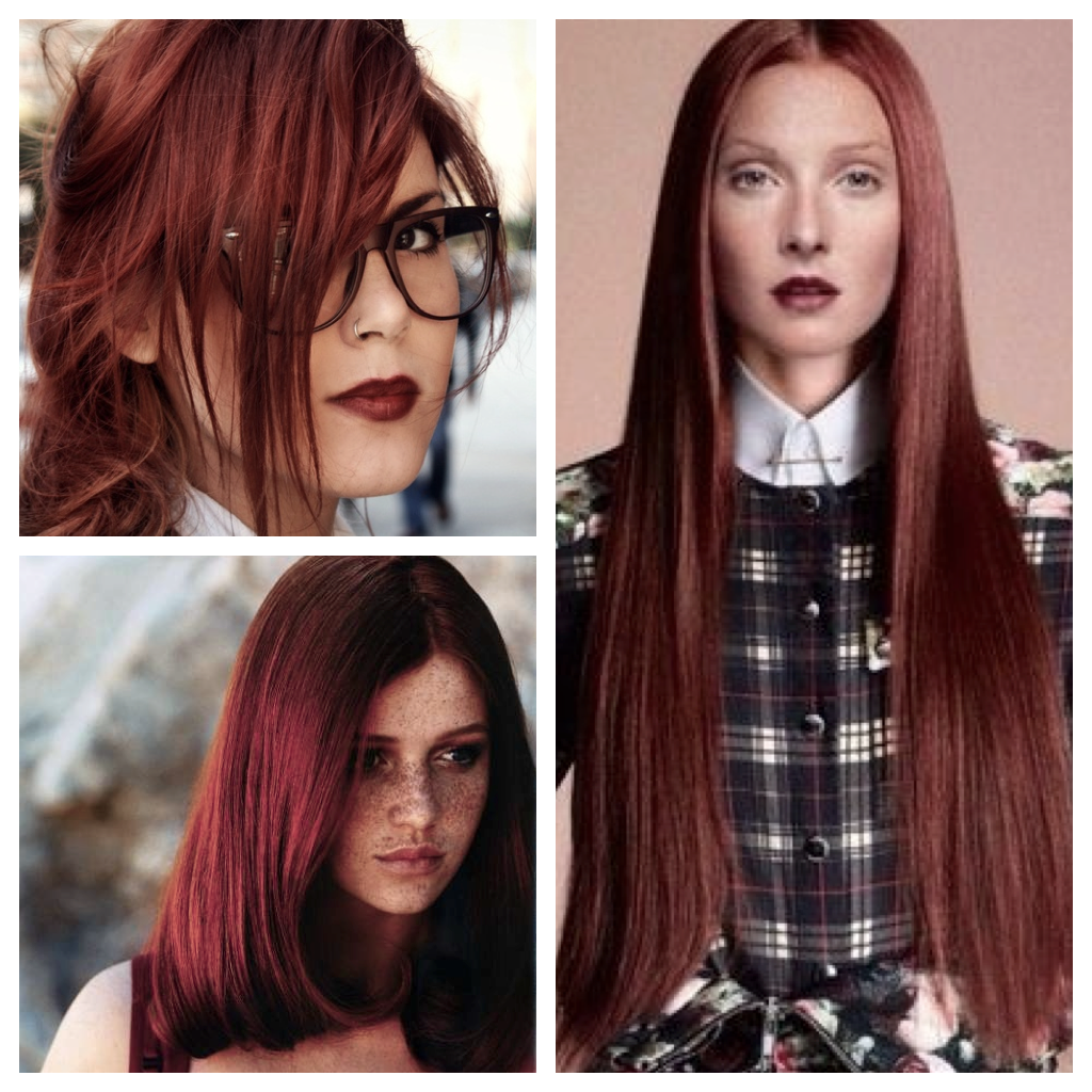 rosewood red hair color