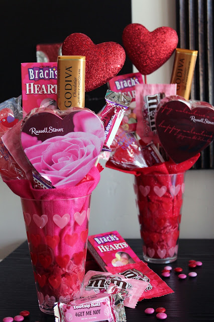 Worth Pinning Valentines Candy Bouquet