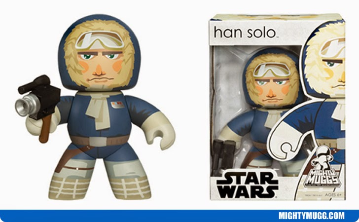 Han Solo Hoth Star Wars Mighty Muggs Wave 6