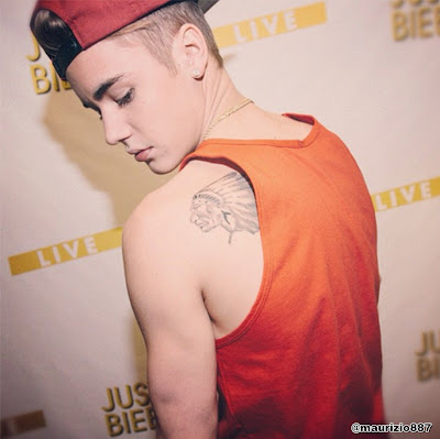 Justin Bieber Tattoo List 2013