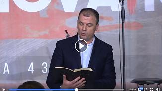 VIDEO LIVE: Mircea Roșca la Biserica RENOVATIO București