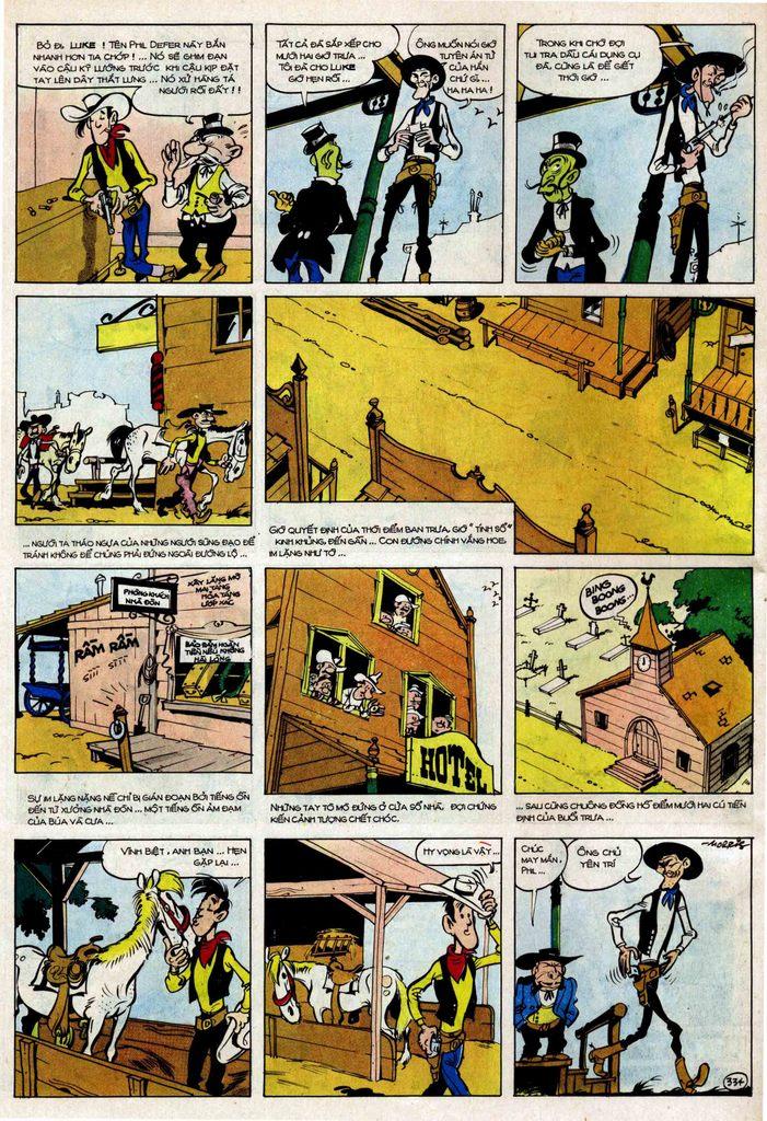 TruyenHay.Com - Ảnh 34 - Lucky Luke Tập 25 - Nhện Chân Dài