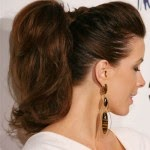 How to get Dark hair ponytail for women