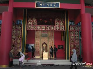 Tampak Depan Masjid Cheng Ho Pasuruan