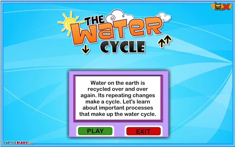 http://www.turtlediary.com/grade-1-games/science-games/the-water-cycle.html