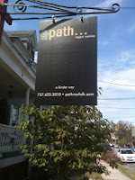 Path Restaurant Sign