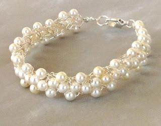 Swarovski Braidlet White Pearl