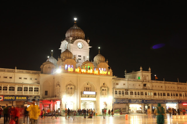 Amritsar, Punjab, India, Travelogue, Golden Temple, Golden Temple in Light