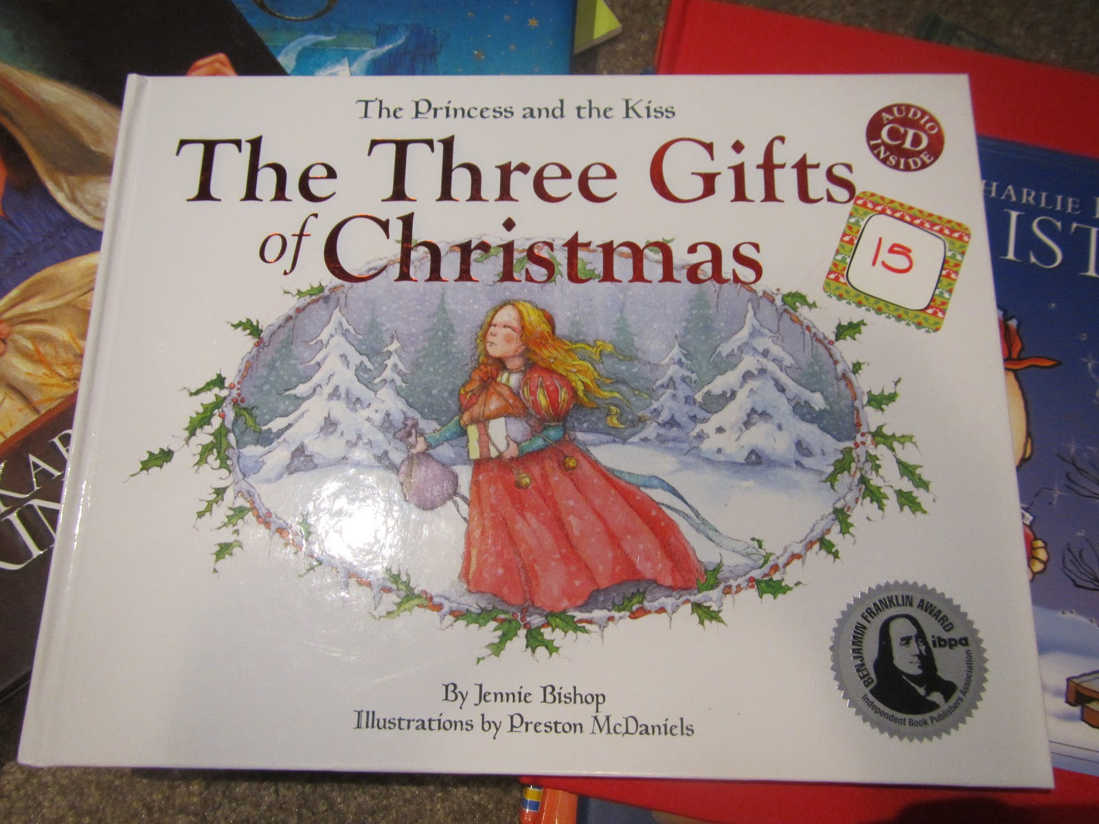 Hobby Mommy Creations: Christmas Book Advent Books 1-25